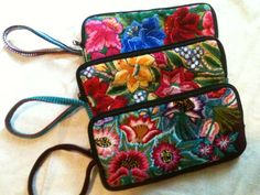 Love the new Coleccion Luna wristlets created in Guatemala from reclaimed Mayan women's clothing