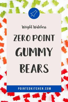 Looking for zero point candy? Then try these easy to make sugar free gummy bears. Just 3 ingredients and zero smartpoints on Weight Watchers Blue, Purple and Green plans. A tasty WW dessert recipe. #weightwatcherssnacks #weightwatchersrecipeswithpoints #zerosmartpoints #wwsnackrecipes Weight Watchers Plan, Weight Watchers Smart Points, Weight Watchers Chicken, Weight Watchers Desserts, Sour Gummy Bears, Sugar Free Gummy Bears, Weight Watcher Cookies, Sugar Free Pudding, Ww Desserts