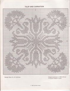 un solo color Cross Stitch Charts, Cross Stitch Embroidery, Embroidery Patterns, Cross Stitch Patterns, Crochet Patterns, Crochet Carpet, Filet Crochet, Monochrome, Tapestry
