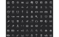 17 Free & Great Minimal Icon Sets