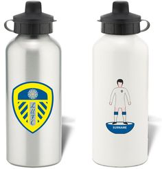 Keep yourself hydrated in style with your own personalised Leeds United FC Subbuteo Water Bottle.
