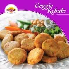 Delicious veggie kebabs to tempt your taste buds #Foodie #Snacks #Tasty #LoveFood #LoveToEat