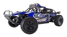 ﹩139.99. REDCAT RACING SANDSTORM BAJA 1/10 SCALE DUNE BUGGY RC CAR OFFROAD ELECTRIC BLUE   Type - Buggy, Scale - 1:10, Color - Blue, Motor Type - Electric Brushed, Drive System - 4 Wheel Drive, RC Radio Remote Control System - 2.4GHz Radio System, - 7.2v 2000mAh NiMh  Charger Included, Fuel Type - Electric, Required Assembly - Ready to Go/RTR/RTF (All included), Recommended Surface - Off-Road  On-Road, Vintage (Y/N) - No, 4WD/2WD - 4WD, Length - 400mm, Height - 165mm, Width - 270mm