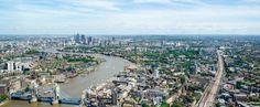 Blick auf London vom The Shard