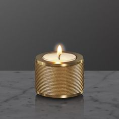 Stackable candle holders made from rare solid metals finished in the most exciting ways. Detailed with our signature knurling pattern each candle holder is made