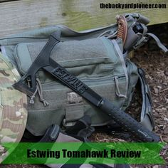 Wait a minute did  Estwing actually make a full blown tactical tomahawk and put it out there in Home Depot's everywhere? Surprisingly the answer is,yes, on both counts! Estwing Tomahawk is a pretty interesting combination of tactical and practical. // via: www.thebackyardpioneer.com //