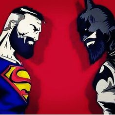 DC Superman and Batman