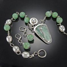 Love the colors! Mixed Media Jewelry, Art Market, American Art, Turquoise Bracelet, Sequins, Gems, Charmed, Jewelry Ideas, Bracelets
