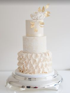 Daily Wedding Cake Inspiration from Coco Cakes Australia. To see more: http://www.modwedding.com/2014/08/12/daily-wedding-cake-inspiration-5/ #wedding #weddings #wedding_cake