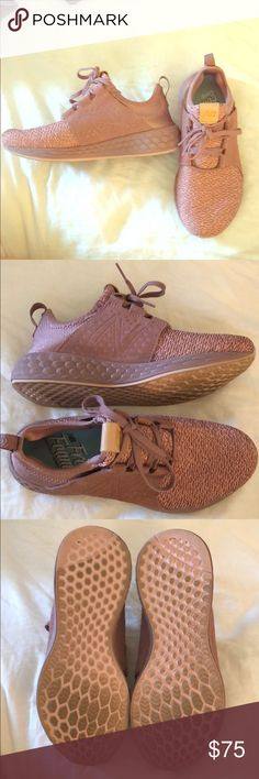 Womens freshfoam Cruz casual new balance sneakers Worn once and Extremely comfortable! New Balance Shoes Athletic Shoes