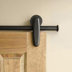 Black Earnhardt Hanger | Rolling Door Hardware Kit $300+