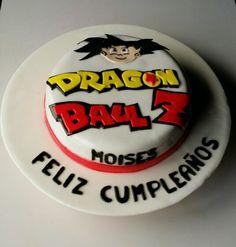 Torta Dragon Ball Z en Fondant