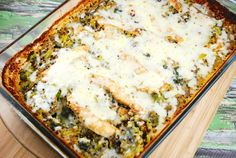 Chicken, Broccoli, Quinoa Casserole Recipe - 7 Points + - LaaLoosh