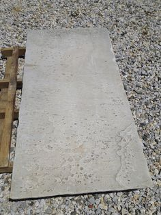 marble floor slab - will become a 1.8m table top