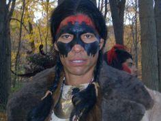 "Adam Joaquin Gonzales-(actor and stunt man) On ""Tacumseh "" film set"
