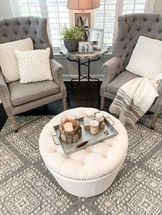Living Room Nook, New Living Room, Formal Living Rooms, Living Room Decor, Cozy Living, Small Sitting Rooms, Bedroom With Sitting Area, Kitchen Sitting Areas, Bedroom Seating