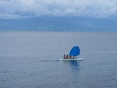 70.8%: Indigenous, Philippine double outrigger canoe w/ fansail