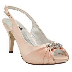 Pink Paradox Vivian Peach - Wedding Shoes - Crystal Bridal Accessories
