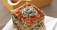 Tofu Spinach Lasagna Vegan Recipe - ChooseVeg.com