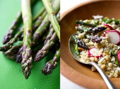 The Pinterest 100: Fitness & Health.   Quinoa and Asparagus Salad from NYTimes.com via Jillian Michaels.
