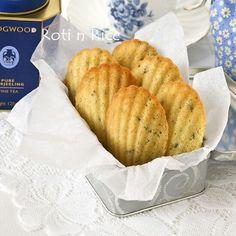 Lavender Madeleines. recipe at @Nami | Just One Cookbook