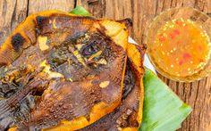 Gebratener Rochen, eine Spezialität in Südostasien © Shutterstock.com Borneo, Mexican, Ethnic Recipes, Food, Skate, Food Food, Recipies, Essen, Meals