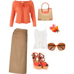 casual, created by eanneanderson on Polyvore