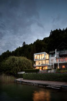 Haus Am See in Carinthia, Austria / by Spado Architects