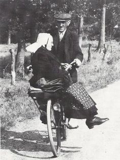 you are never to old to take a date on a bike ride