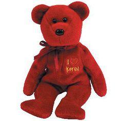 Ty Beanie Baby Happy Hanukkah the Bear w Dreidel Ty Store Exclusive