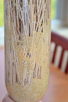 DIY Sensory Bottles: Rain Stick - In Lieu of Preschool