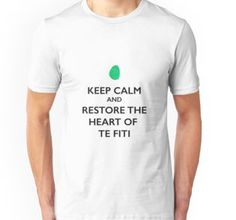 Keep calm and restore the heart of Te Fiti | T-shirt By PeterPoitier