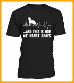 WOLF AND THIS IS HOW MY HEART BEATS - Wolf shirts (*Partner-Link)