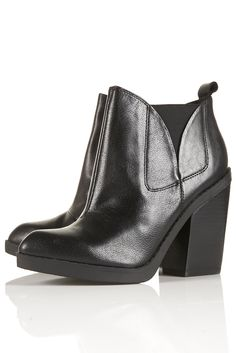 Topshop Aggro High Chelsea Boots $150