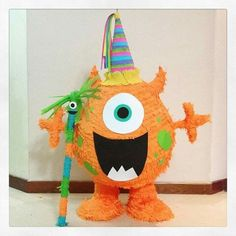 Little Monster Birthday, Monster 1st Birthdays, Twins 1st Birthdays, Monster Birthday Parties, First Birthday Parties, Monster Pinata, Monster Decorations, Boy First Birthday, Party Themes