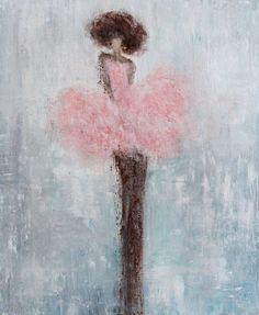 ballerina painting  s swalla