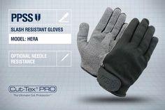 PPSS #SlashResistantGloves (Hera) with optional #needleresistance