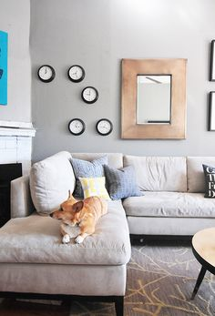 Blake Sectional Sofa from west elm via @Apartment Therapy