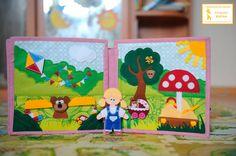 """Развивающая книга """"Кукольный домик"""" - Babyblog.ru"""