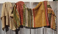 Ravelry: Project Gallery for Monsoon Stole pattern by The Little Bee ~ Alia Bland
