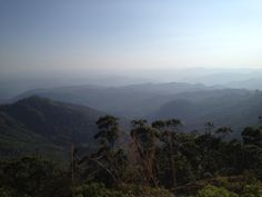 The Western Ghats from Munnar - glorious!