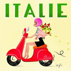 Italy Illustration, My Past Life, Girly Things, Nice Things, Illustrations, Cute Drawings, Have Fun, Images, Photos