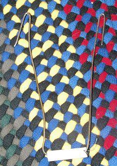 DIY Braided Rug In Detail.