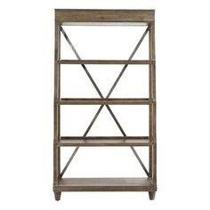 Compass Bookcase in Western Brown | Nebraska Furniture Mart
