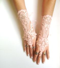 Hey, I found this really awesome Etsy listing at https://www.etsy.com/listing/129083732/soft-peach-pink-ivory-cappuccino