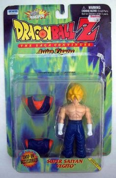 Dragon Ball Z Action Figure Super Saiyan Vegito (1999)