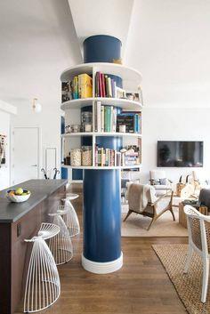 yep, that's a bookshelf column.