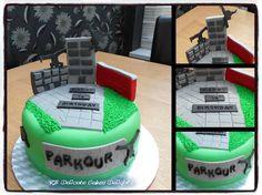 parkour cake