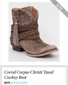bb4d5532317951 Corral Corpus Christi Tassel Boot - Women s Shoes in Brown