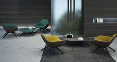 Lounge | Draaibaar en zeer comfortabel | MV Kantoor